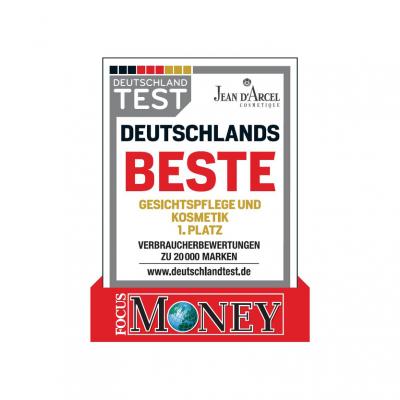 Wir arbeiten mit Deutschlands bester Kosmetikmarke - JEAN D'ARCEL